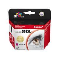 Cartridge Canon CLI-551M XL, magenta, TB