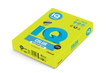 Barevný papír IQ NEOGN A3 80g fosforově zelená 1bal/500ks