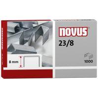 Spojovač Novus Standard 23/8, drátky do sešívaček, 1000ks