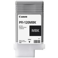 Cartridge Canon PFI-120MBK, matte black, 2884C001, originál