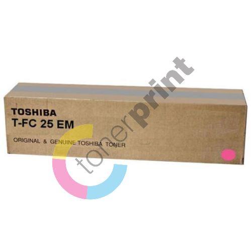 Toner Toshiba T-FC25EM, magenta, originál 1