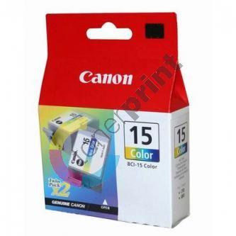 Cartridge Canon BCI-15C, 1bal/2ks, originál 1
