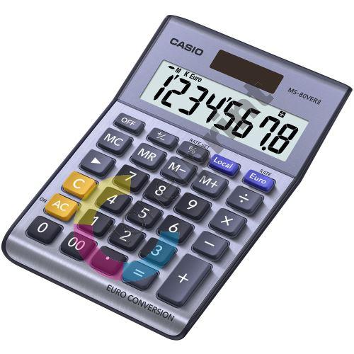 Kalkulačka Casio MS 80 VER II kov