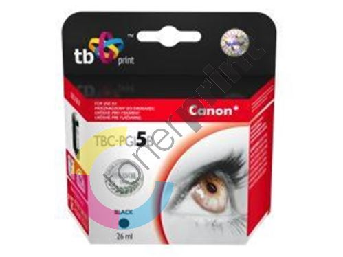 Cartridge Canon PGI-5BK + čip TB 2