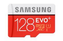 Samsung 128GB, micro SDHC, EVO PLUS + adaptér