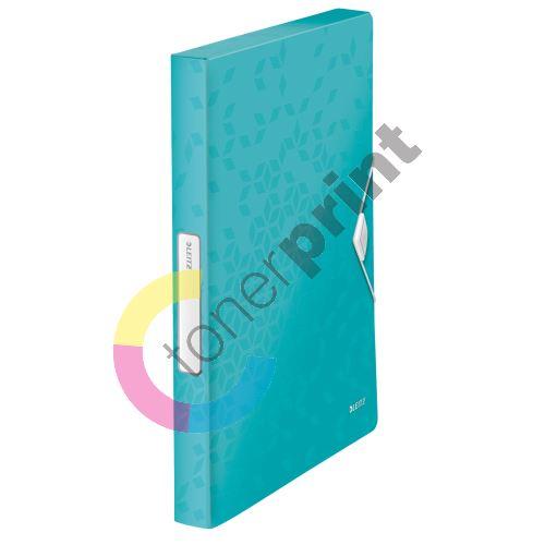 Desky s gumičkou Wow Jumbo, ledově modrá, 30 mm, PP, A4, LEITZ 1