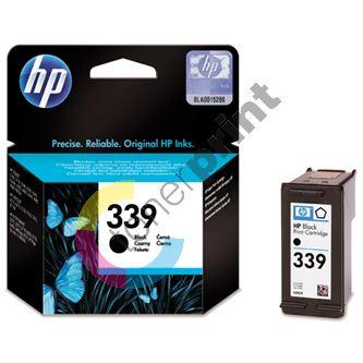 Cartridge HP C8767EE, black, No. 339, originál 1