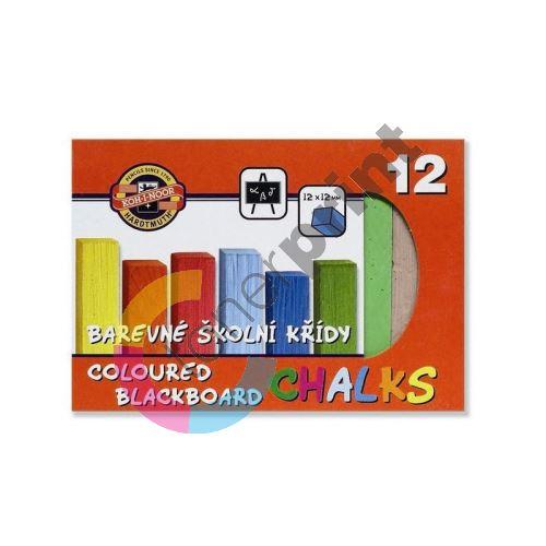 Křída školní barevná 161/12 barev 1