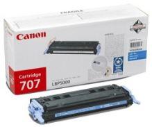 Toner Canon CRG-707C, modrá originál