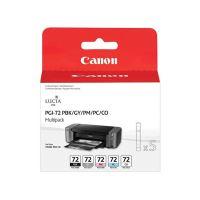 Cartridge Canon PGI-72PBK/GY/PM/PC/CO, sada, originál