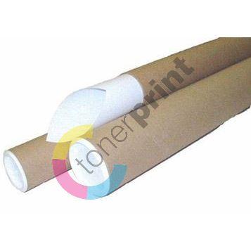 Tubus, kartonový, hnědý, průměr 73 mm x 104 cm 1