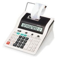 Kalkulačka Citizen CX123N, bíločerná, dvanáctimístná s tiskem, dvoubarevný tisk