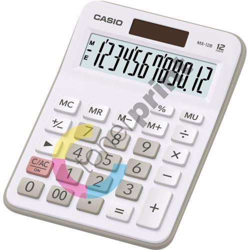 Kalkulačka Casio MX 12 B WE 1