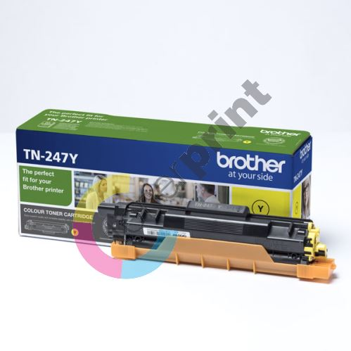 Toner Brother TN-247Y, yellow, originál 1