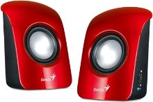 Genius reproduktor SP-U115 1,5W USB Red