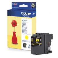 Cartridge Brother LC-121Y, yellow, originál