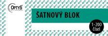 Šatnový blok, 200 listů, OP1280