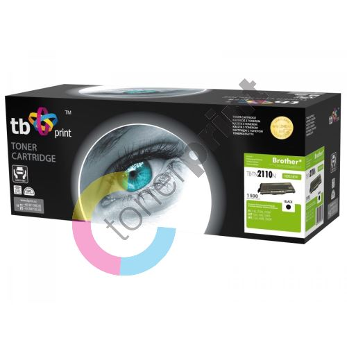 TB toner kompatibilní s Brother TN2110 100% new 1