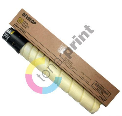 Toner Develop TN-321Y, yellow, A33K2D0, originál 1