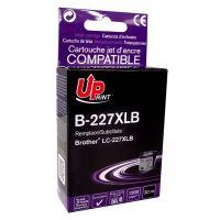 Cartridge Brother LC-227XLBK, black, UPrint