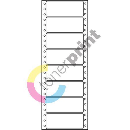 Etikety tabelační 89x36,1 jednořadé, 4000 etiket 1