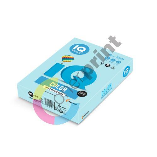 Barevný papír IQ MB 30 A4 80g modrá 1bal/500ks 1
