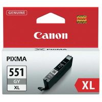 Cartridge Canon CLI-551GY XL, grey, 6447B001, originál