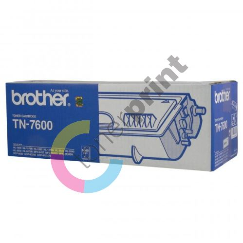 Toner Brother TN-7600, black, originál 2