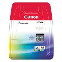 Cartridge Canon CLI-36, color, 1511B018, 2pack, originál