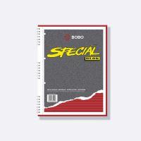 Bobo kroužkový blok Speciál A4, 50 listů, linka