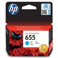 Cartridge HP CZ110AE, cyan, No.655, originál