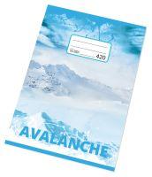 Papírny Brno Sešit A4 420, čistý, bezdřevý, 20 listů 3