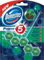 Domestos Power 5 Pine WC tuhý blok 55 g