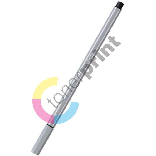 Fix, 1 mm, STABILO Pen 68, šedá 1