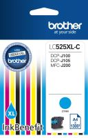 Cartridge Brother LC-525XLC, cyan, originál