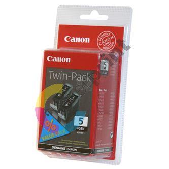 Cartridge Canon PGI-5BK, 2-Pack, černá, originál 1