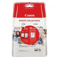 Cartridge Canon PG-545XL, CL-546XL, 50x GP-501, CMYK, 8286B006, originál