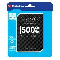 "Verbatim 500GB Store n Go, externí HDD 2,5"" USB 3.0, 53193, černý 1"