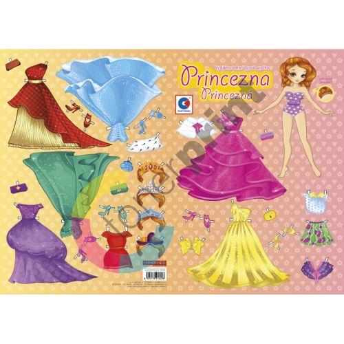 Vystřihovánka, Princezna 1