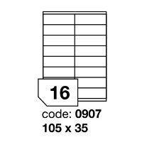 Samolepící etikety Rayfilm Office 105x35 mm 100 archů R0100.0907A