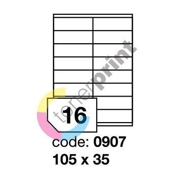 Samolepící etikety Rayfilm Office 105x35 mm 100 archů R0100.0907A 1