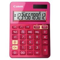 Kalkulačka Canon LS-123K, růžová, stolní, dvanáctimístná