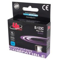 Cartridge Brother LC-123C, cyan, UPrint