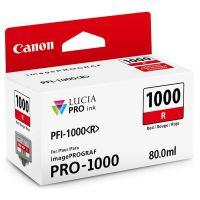 Cartridge Canon PFI-1000R, 0554C001, red, originál