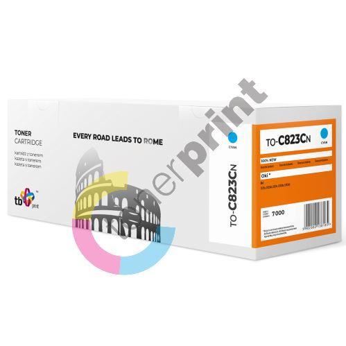 TB toner kompatibilní s OKI C823, 46471103, TO-C823CN CY 100% new 1