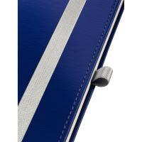 Zápisník Leitz STYLE A5, tvrdé desky, čtverečkovaný, titanově modrý 6
