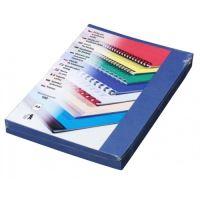 Kartónové desky pro zadní strany Delta A4, 230 g, královská modrá, 100 ks