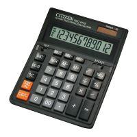 Kalkulačka Citizen SDC444S, černá, stolní, dvanáctimístná