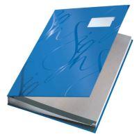 Podpisová kniha designová Leitz, modrá