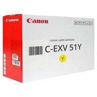 Toner Canon CEXV51Y, yellow, 0484C002, originál
